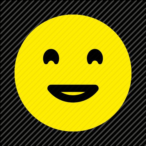 Color, Emoticons, Emotion, Face, Happy Icon