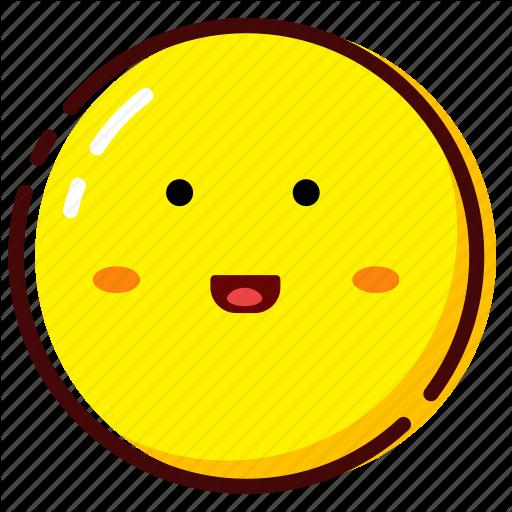 Cute, Emoji, Emoticon, Expression, Happy Icon
