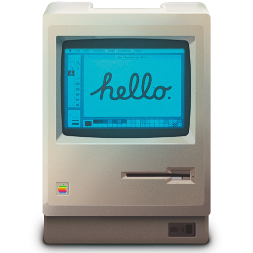 Old Mac Computer Icon Images