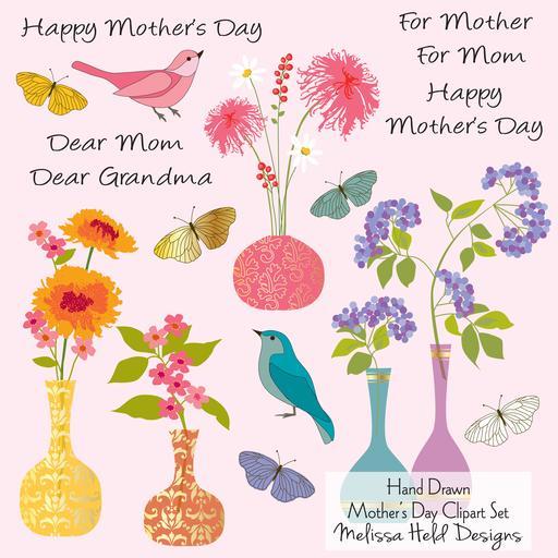 Mother's Day Cliparts Mygrafico