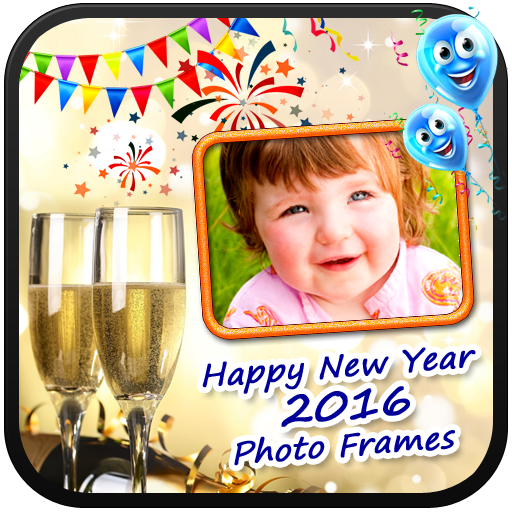 New Year Frames Happy New Year Photo Frames Happy