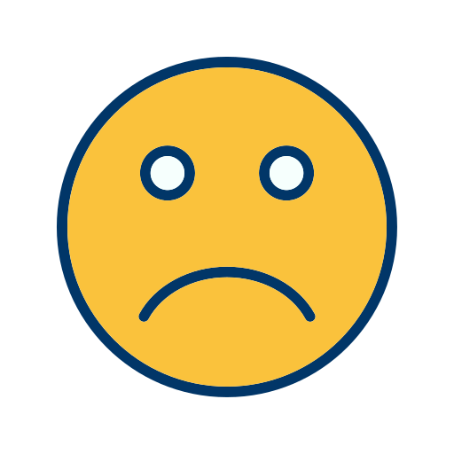 Emoticon, Face, Sad, Smiley Icon Free Of Emoticons Filled Two