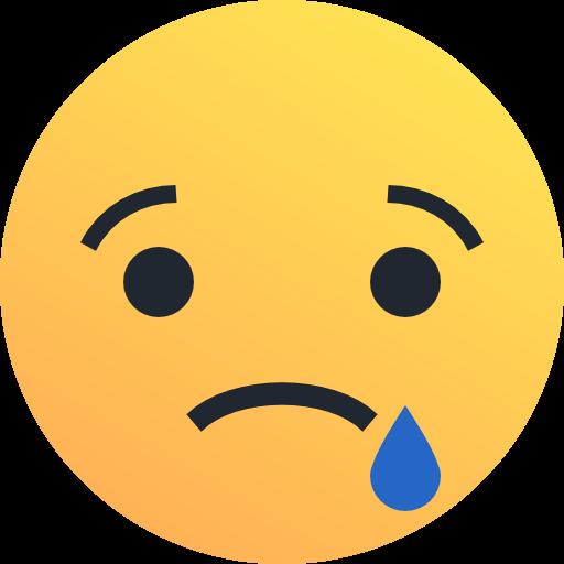 Sad, Emo, Emoticon, Face Icon Free Of Reactions Icons