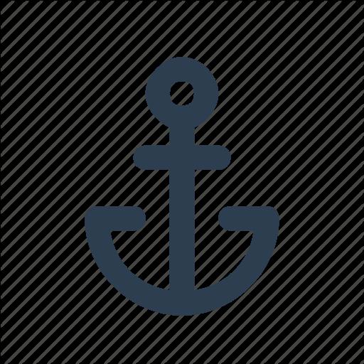 Anchor, Harbor, Marine, Seaport Icon