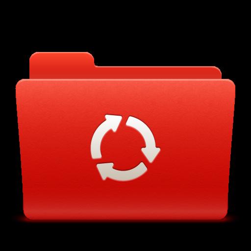 Folder Isync Icon