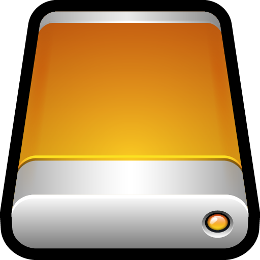 Device External Drive Icon Hard Drive Iconset Hopstarter