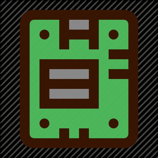 Board, Chip, Computer, Device, Drive, Hard Drive, Pc Icon