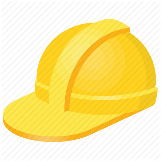 Construction Helmet, Engineer Hat, Hard Hat, Helmet Clipart