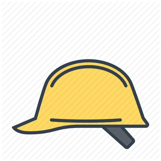 Construction, Hard Hat, Helmet, Industry, Safety Icon