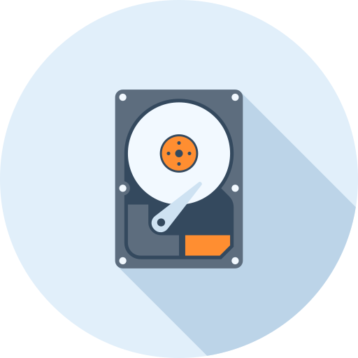 Hard, Drive, Hardware Icon Free Of Technology And Hardware Icons