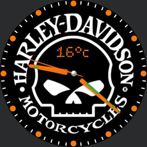 Harley Davidson For G Watch R
