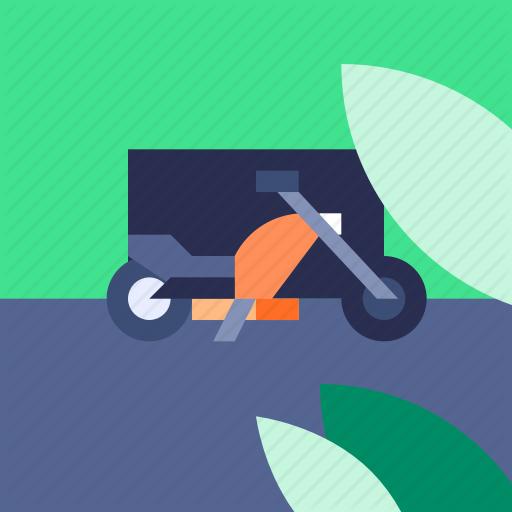 Automotive, Harley, Lifestyle, Motor Bike Icon