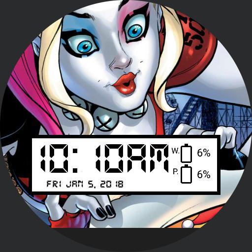 Harley Quinn Dc Comic For Moto