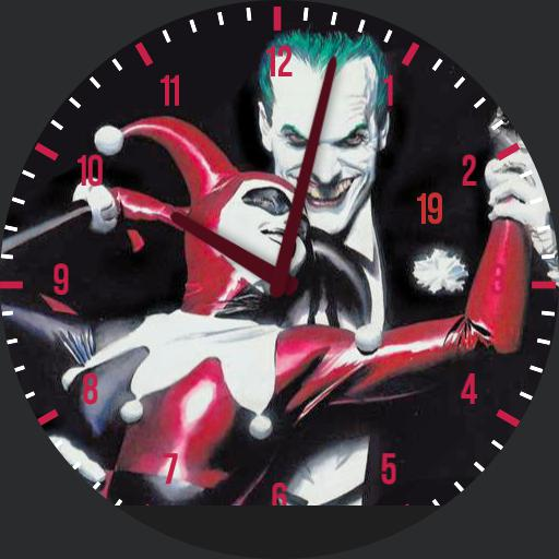 Harley Quinn Watchfaces For Smart Watches