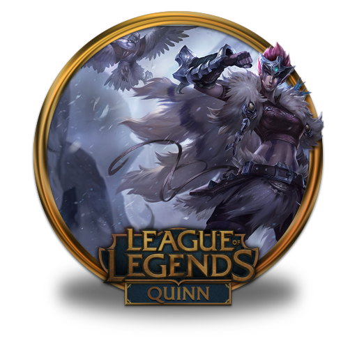 Quinn, Woad, Scout Icon Free Of League Of Legends Gold Border Icons
