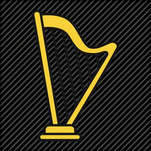 Classical, Greek, Harp, Heather Harp, Instrument, Musical Icon