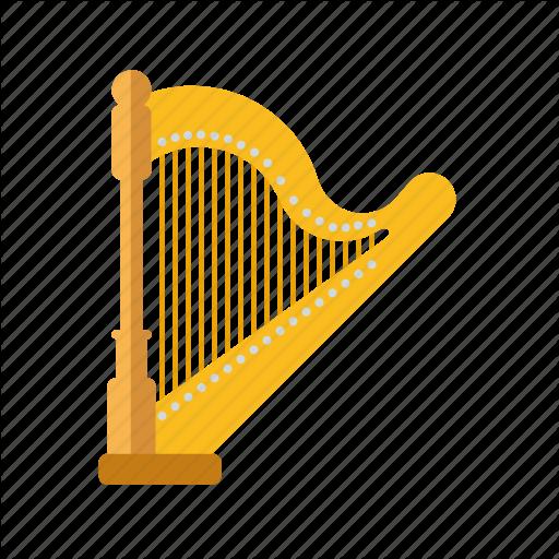 Concert, Harp, Instrument, Music, Sound, String Icon