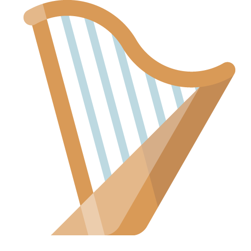 Harp, Musical, Instrument Icon Free Of Musical Instrument Icon Set