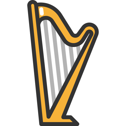 Harp Png Icon