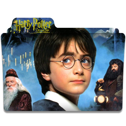 Folder Eyecons Harry Potter And The Philosophers Stone