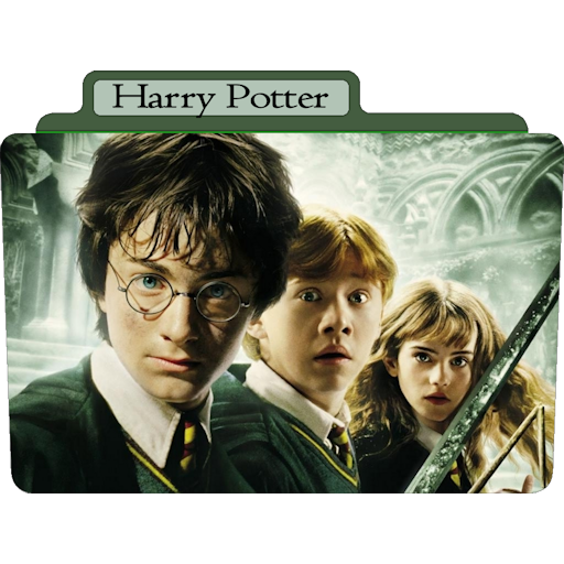 Harry Potter Icon Tv Movie Folder Iconset Aaron Sinuhe