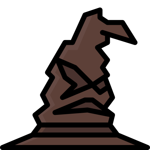 Harry, Potter, Sorting, Hat Icon Free Of Harry Potter Colour