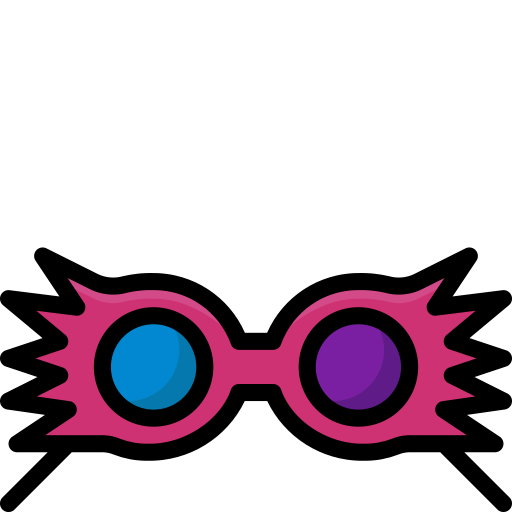 Colour, Glasses, Harry, Magic, Potter, Spectrespecs Icon
