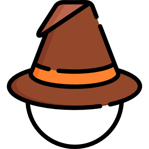Witch Hat Icon Autumn Freepik Freepik
