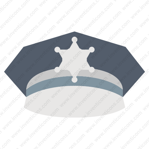 Download Police,hat Icon Inventicons