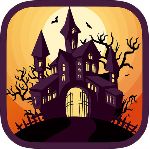 Halloween Haunted House Decoration