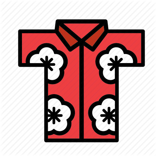 Accessory, Clothes, Clothing, Garment, Hawaii, Hawaiian, Shirt Icon