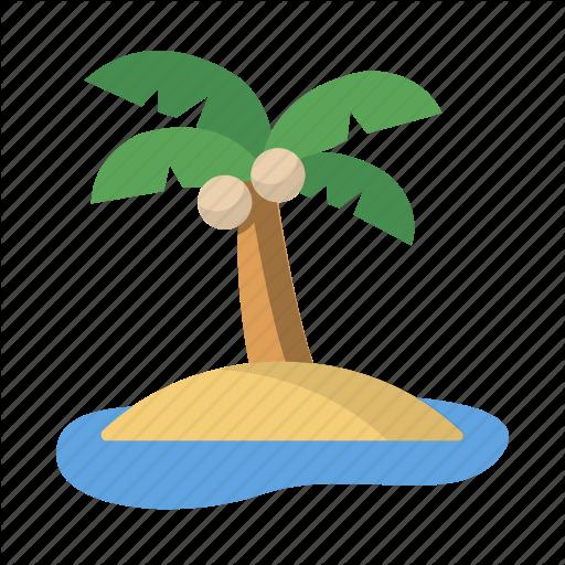 Beach, Hawaii, Island, Paradise, Relaxation, Vacation Icon