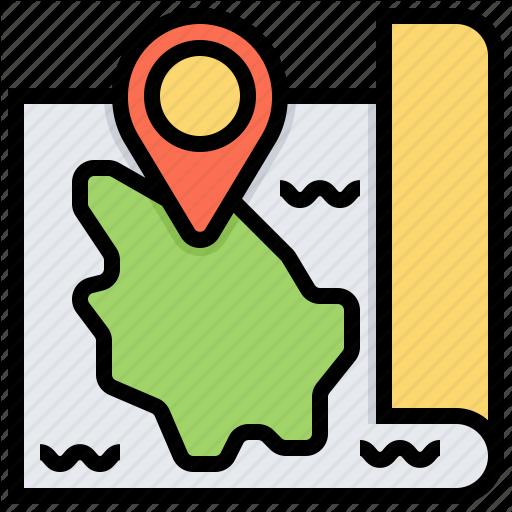 Hawaii, Location, Map, Navigation, Pn