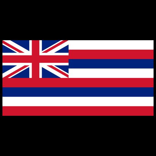 Us Hi Hawaii Flag Icon