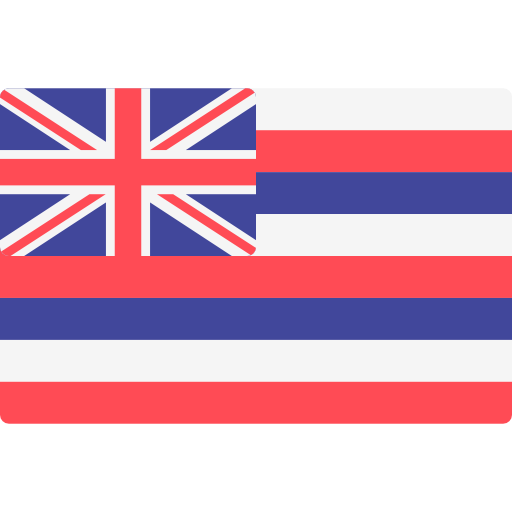 Hawaii, World, Flag, State, Flags Icon