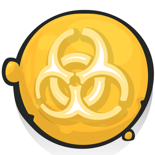 Collection Of Biological Hazards Icons Free Download