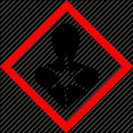 Hazard, Hazard Symbols, Health, Industrial, Longer Term Health