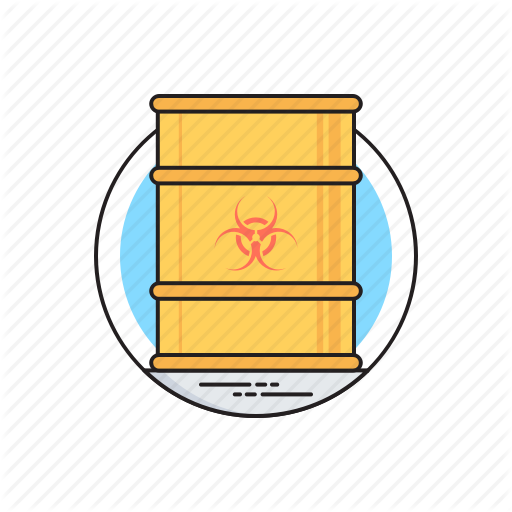 Biohazard Chemical, Chemical Waste, Hazardous Waste, Toxic Barrel