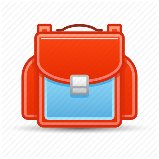 School Bag Hd Icon