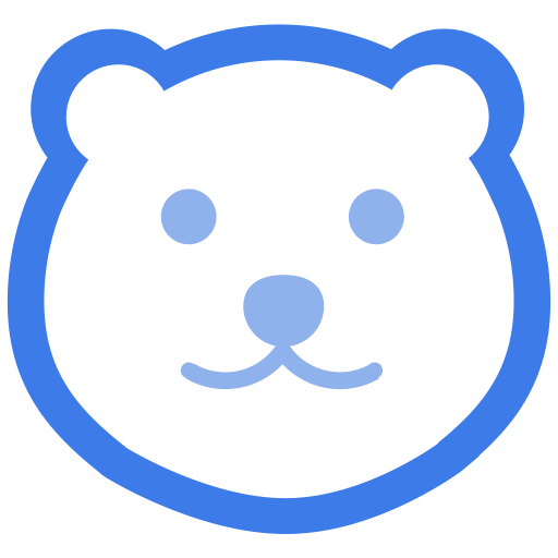 With The Bear Head, Animals, Head Icon With Png And Vector Format
