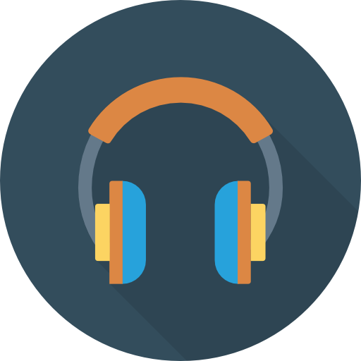 Headphone Icon Network And Communications Dinosoftlabs