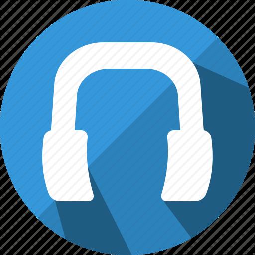 Audio, Ear, Handsfree, Headphone Icon