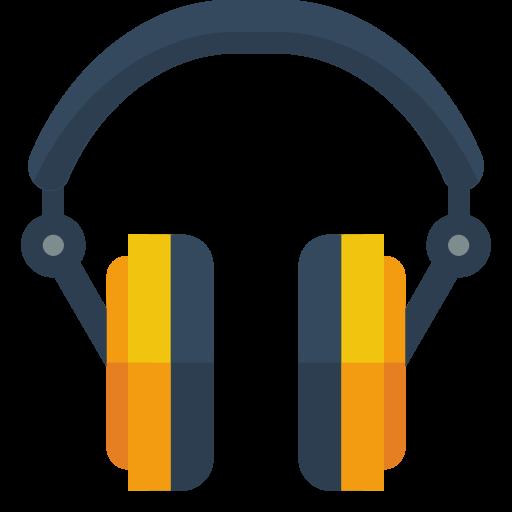 Headphone Icon Small Flat Iconset Paomedia