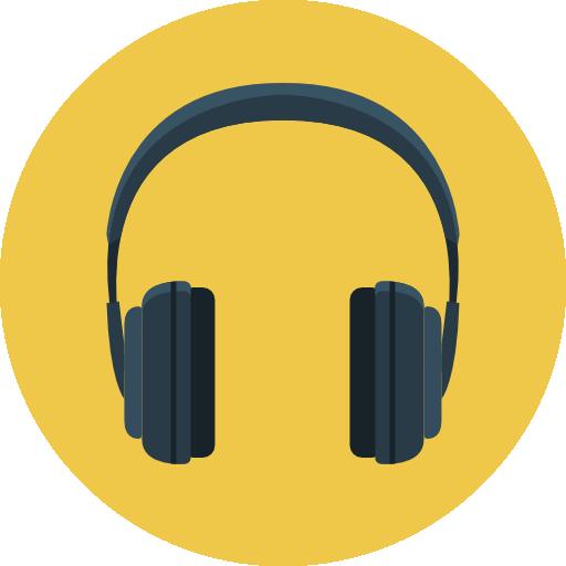 Headphone Icon Flat Iconset Flat