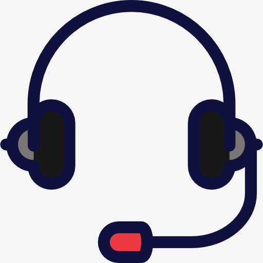Headset, Cartoon, Headsets Png Image And Clipart For Free Download