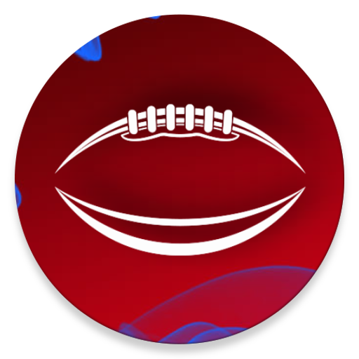 Red Blue Football Theme