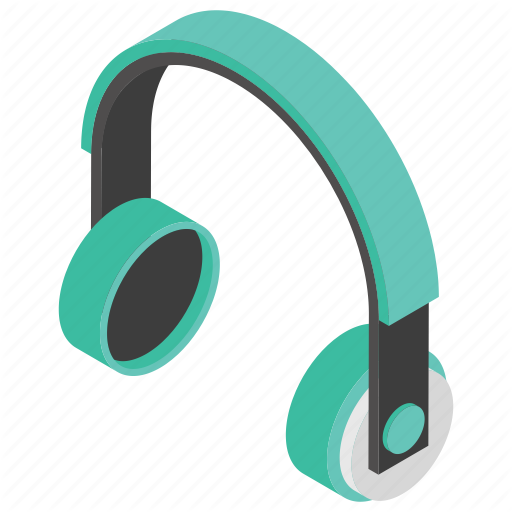 Audio Device, Earphone, Headphone, Headset Icon