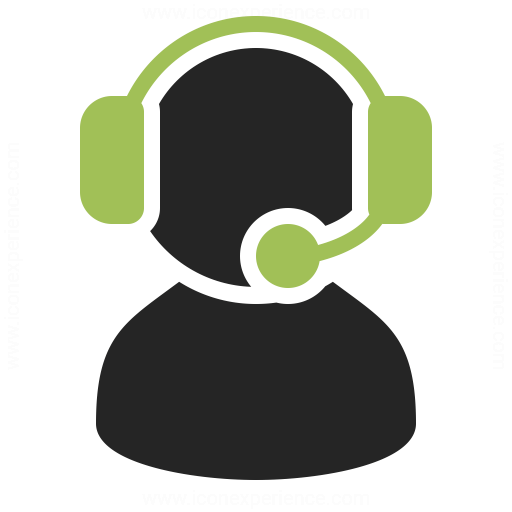 User Headset Icon Iconexperience