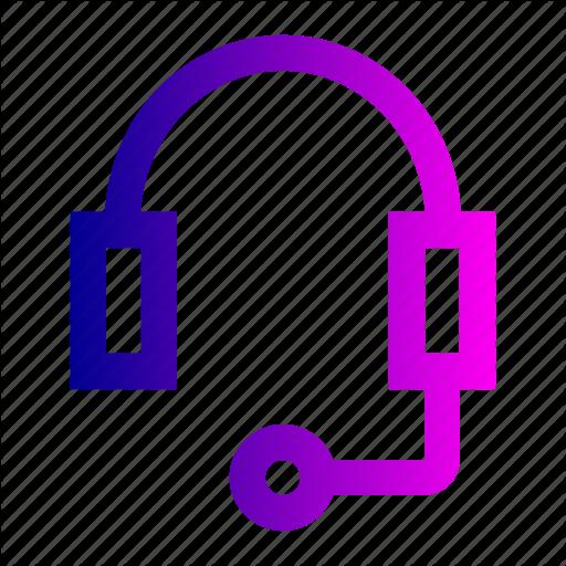 Ear, Head, Headset, Phone, Radio Icon
