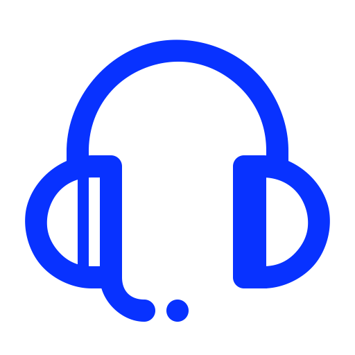 Contact Us, Listne, Music, Help, Support, Headphones, Headset Icon